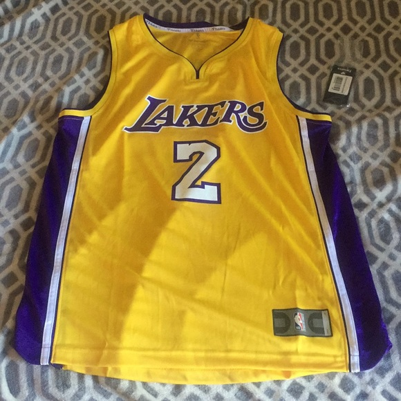 best sneakers 66a6a f5009 Los Angeles Lakers Lonzo ball Jersey NWT